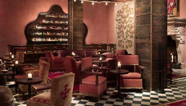 Inside Rose Bar