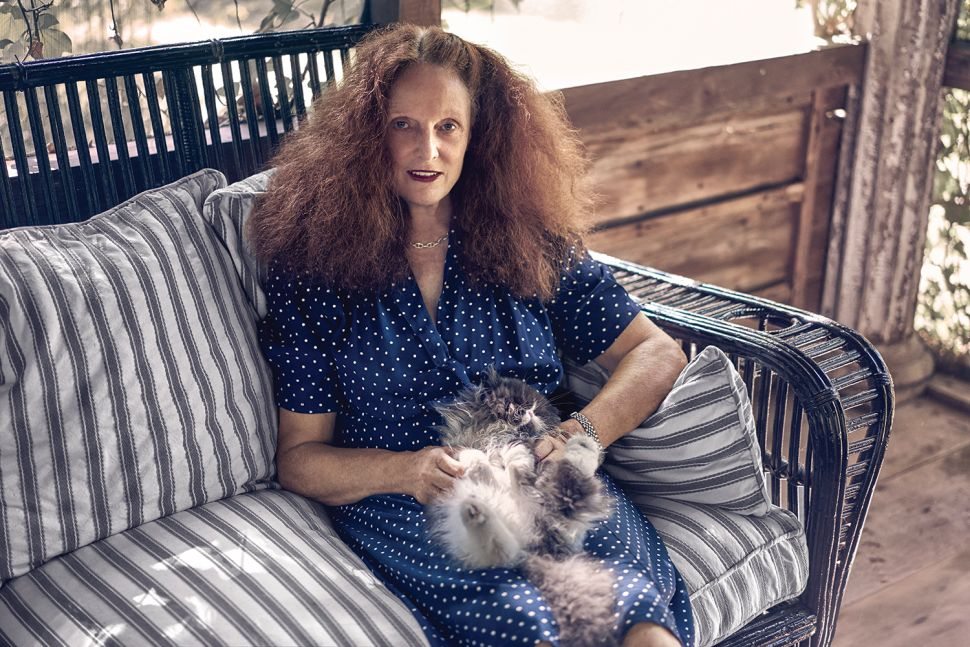 Grace Coddington Creates Signature Scent