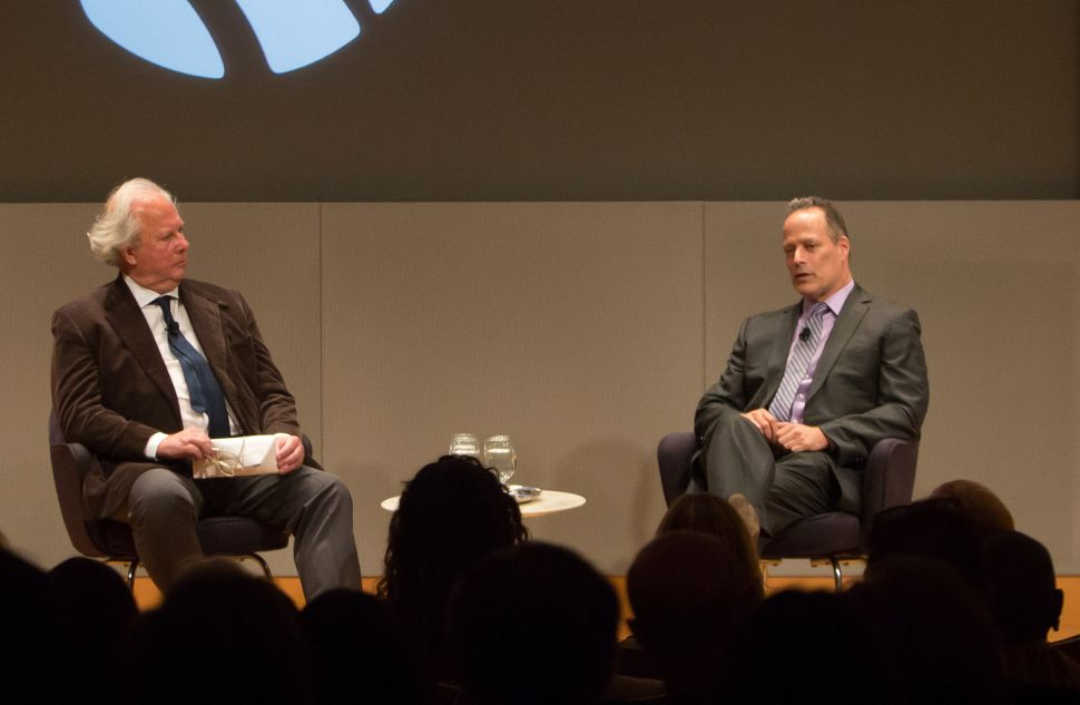 Warfare Class: Sebastian Junger Teaches New York Public Library Donors About PTSD