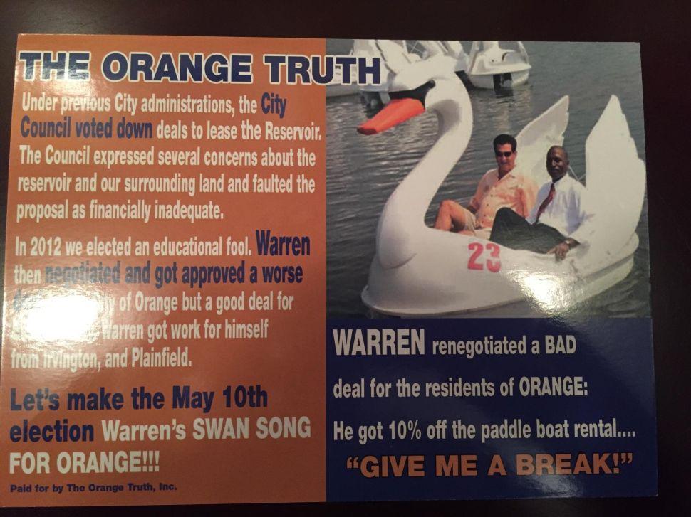 PAC Air War Intensifies in Orange Mayor's Race