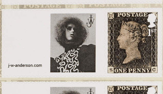 The J.W.Anderson stamp