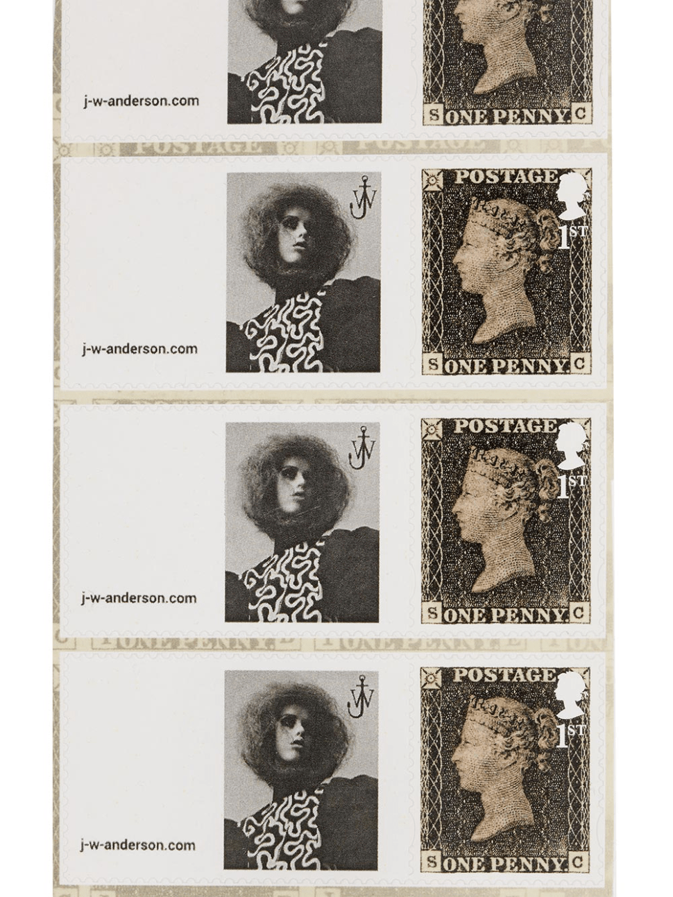 Fashion Designer J.W.Anderson Is Getting Into the Stamp Business