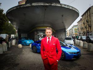 Lapo Elkann at the presentation of Garage Italia Customs' new headquarters in October in Milan.