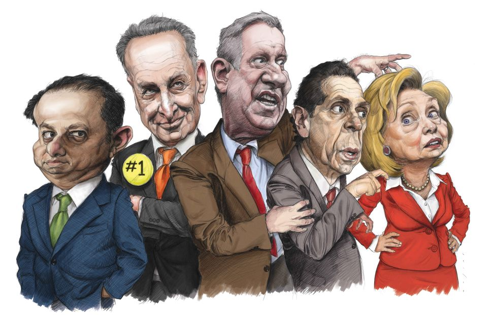 New York City's Political Power 50