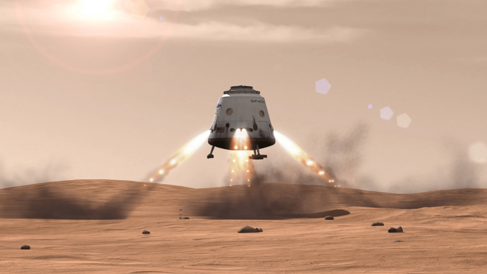 SpaceX Will Send Dragon Vehicle to Mars in 2018 to Prepare for Human Colony