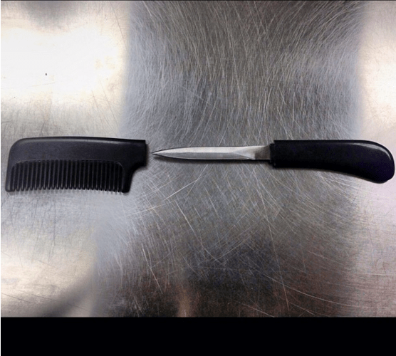 The TSA Instagrams Cleverly Concealed Weapons It Confiscates—Here Are 11 of the Craziest