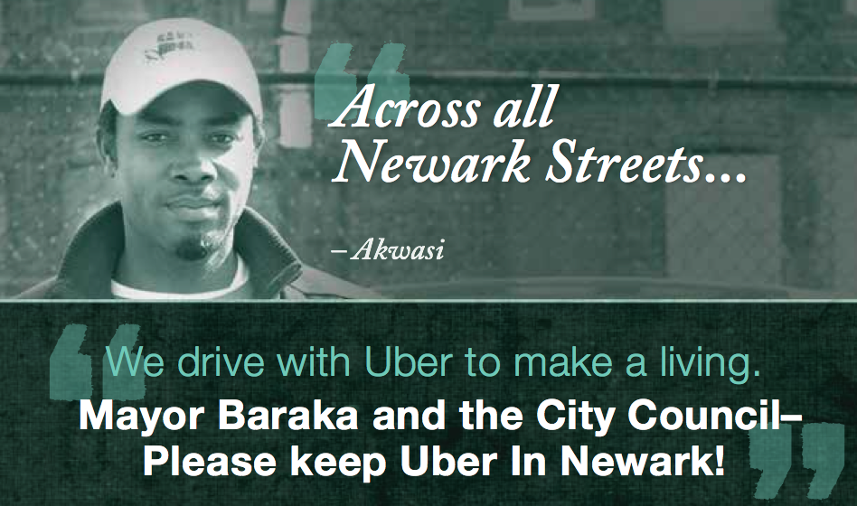 Uber to Launch Ad Campaign Blasting Baraka, Council in Newark