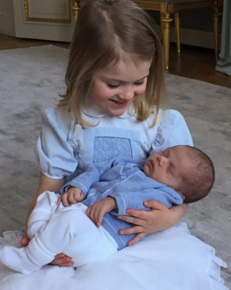 Prince George Has Competition From Sweden's New Royal Babies