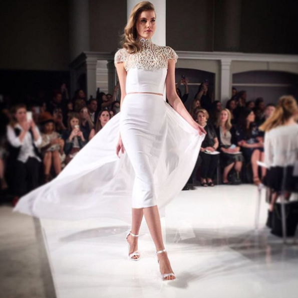 Christian Siriano's Bridal Launch Includes Interpretations of a Taylor Swift Gown