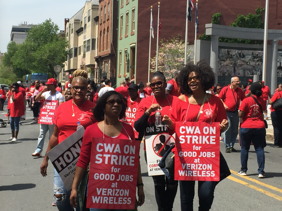 Prieto, Sweeney Come Out for Striking Verizon Workers