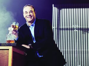 Although he isn't a big drinker, Mr. Taffer enjoyed Scotch.