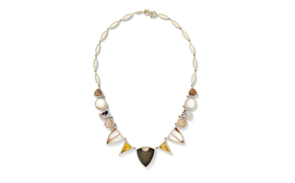 This Diamond Necklace Has a (Dinosaur) Bone to Pick
