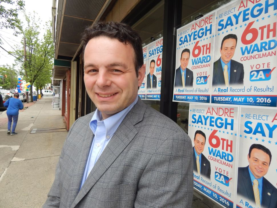 Paterson Dogfight: Sayegh Battling for Ward 6