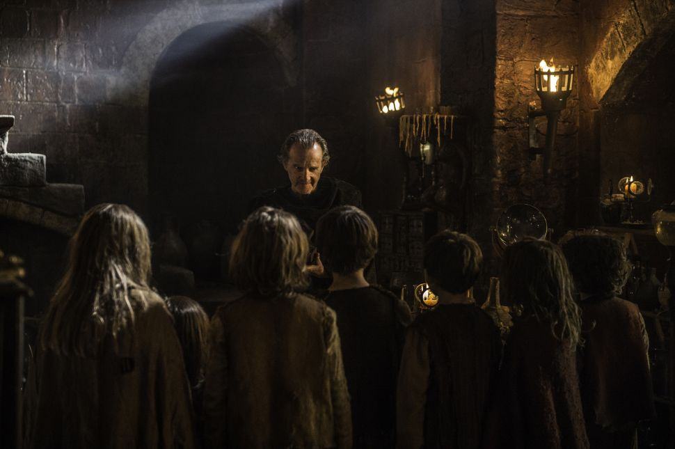 'Game of Thrones': Something Creepy Is About to Happen to These Children