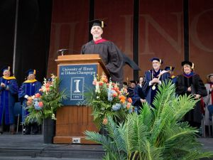"""Find A Better Way"" — University of Illinois Commencement speech — May 14, 2016"