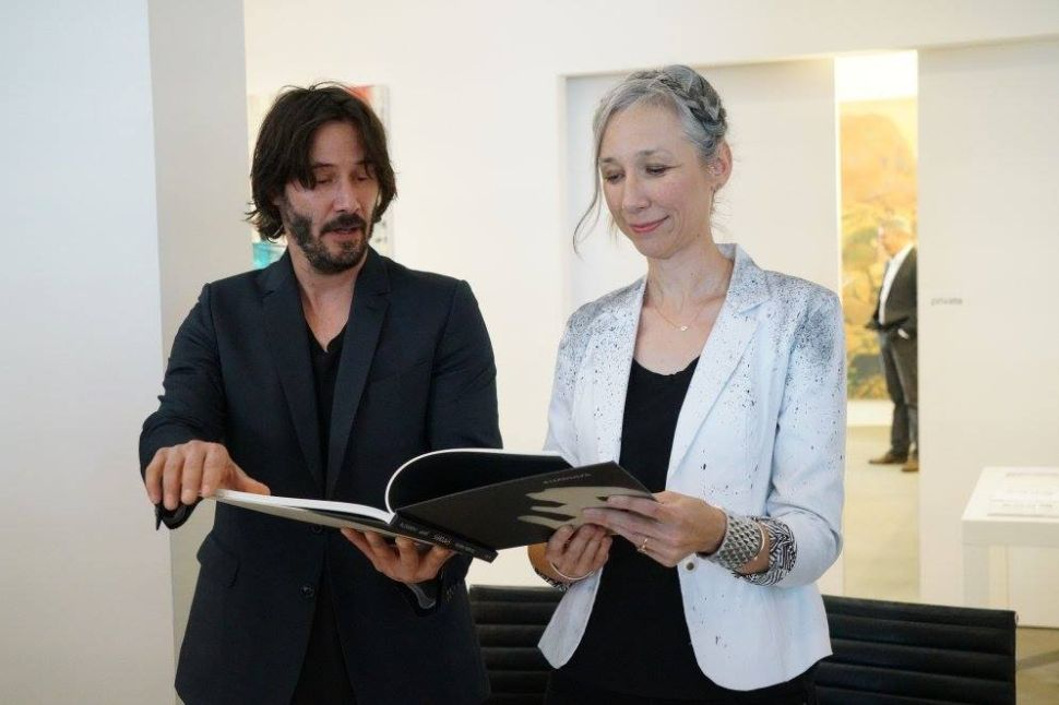 Keanu Reeves Talks Art Books, Win a Yayoi Kusama-Decorated Airbnb