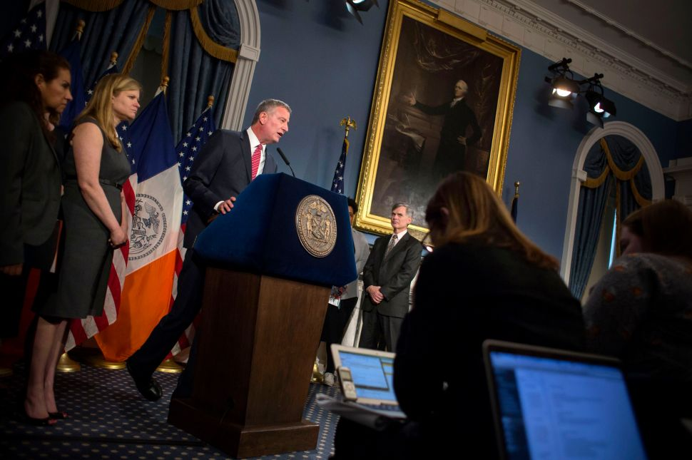 Bill de Blasio Has Had 'Enough' of JCOPE