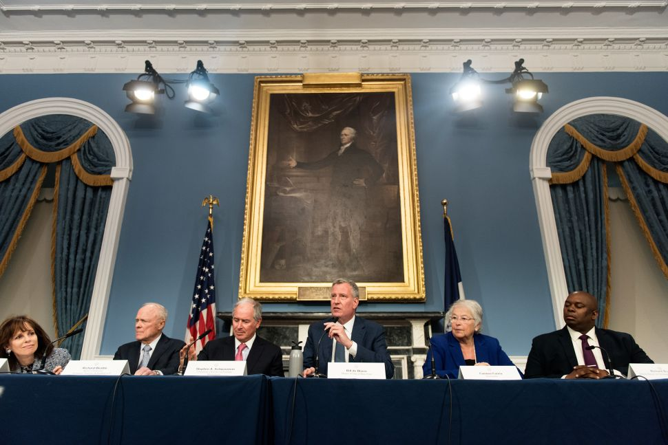 Embattled de Blasio Promises Deed Restriction 'Reforms' and Defends Fundraising