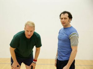 Noah Emmerich and Matthew Rhys in The Americans.