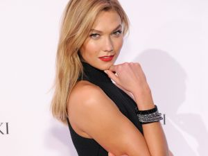 Karlie Kloss at last night's event
