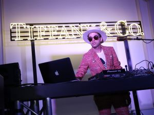 """ROME, ITALY - MAY 11: Dj Cassidy performs during the Tiffany & Co. celebration of the opening of its new store in Rome at at Villa Aurelia on May 11, 2016 in Rome, Italy. (Photo by Elisabetta Villa/Getty Images for Tiffany & Co.)"""