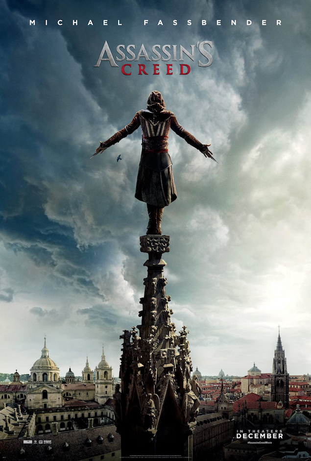 Thoughts I Imagine Going Through This Guy's Head On The 'Assassin's Creed' Poster