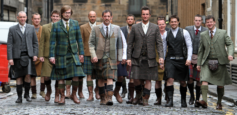 This Kilt Designer Hasn't Worn Trousers in 16 Years
