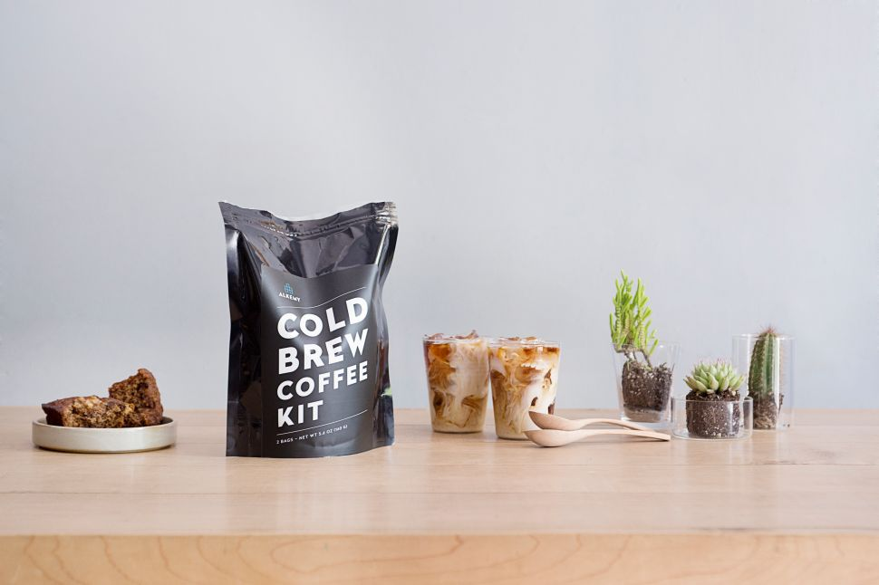 Would You Drink Cold Brew From a Plastic Bag?