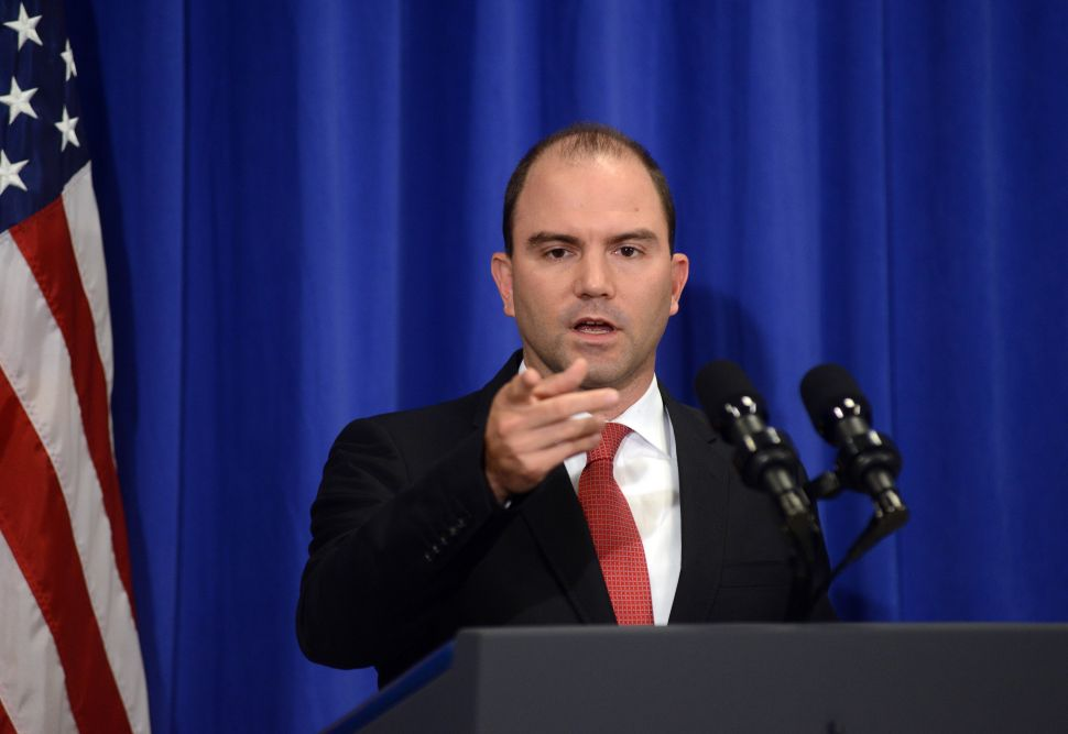 David Samuels Defends His Controversial NY Times Mag Profile of Ben Rhodes