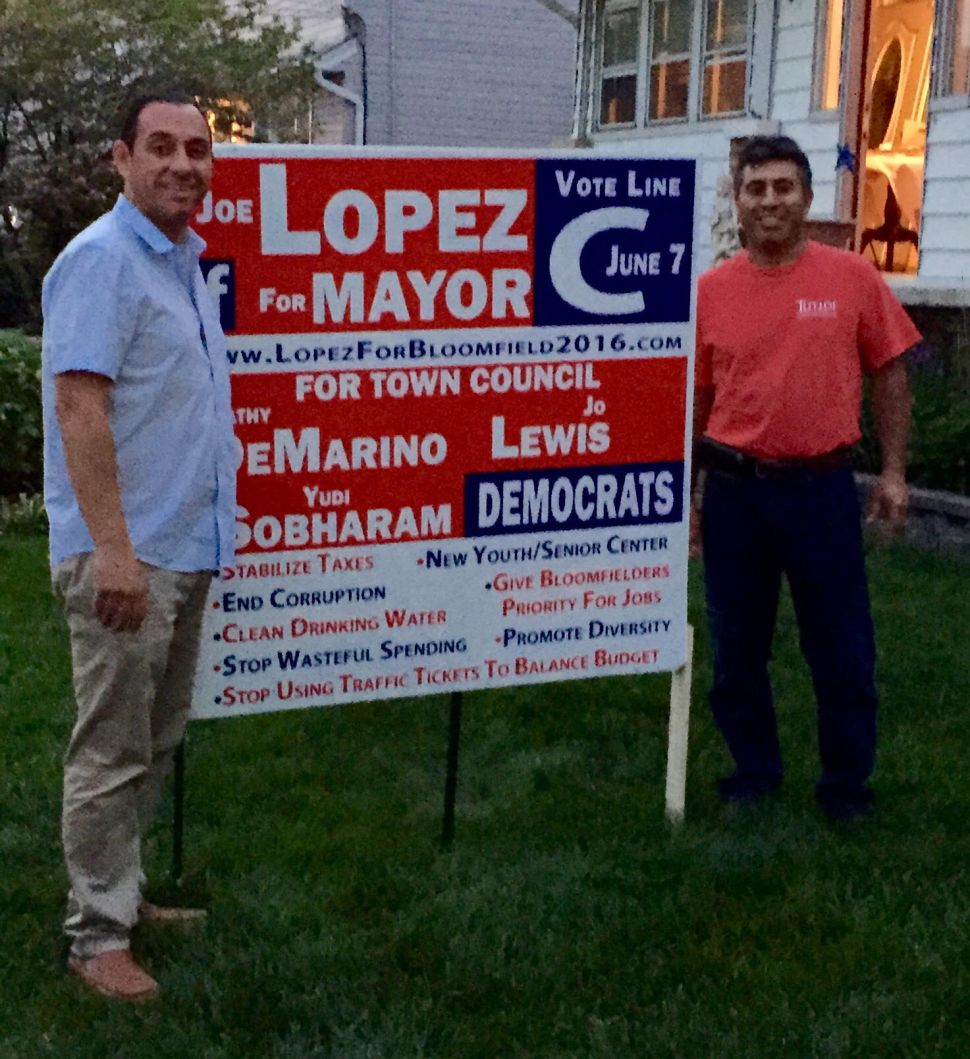Lopez Claims Venezia Wrongly Accused Him of Stealing Lawn Sign