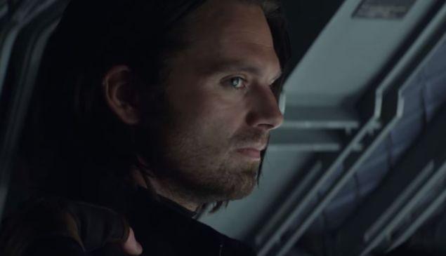 Sebastian Stan as Bucky Barnes in 'Captain America: Civil War' Trailer (Photo: Screenshot via Youtube)