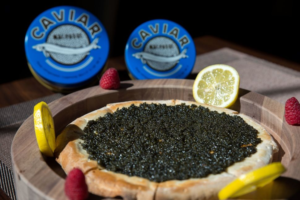 Olma Caviar Lounge Offers a Rather Luxurious Take on Pizza