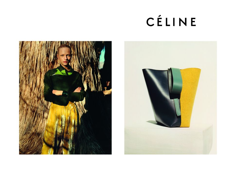 Céline's Pre-Fall Ads Will Inspire All Your Weekend Shopping Trips