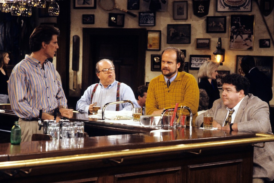 A Millennial Reviews: 'Cheers' Chronicles a Sad Time Before Bars Had Giant Jenga