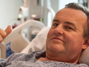 Thomas Manning, who received the first successful penis transplant in the U.S. last week.