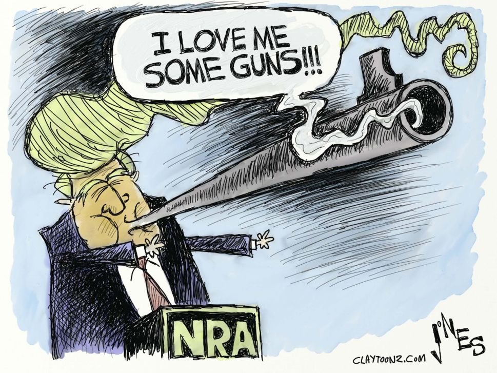 Clinton-Trump Present Opposing Gun Policies and a Test for the NRA