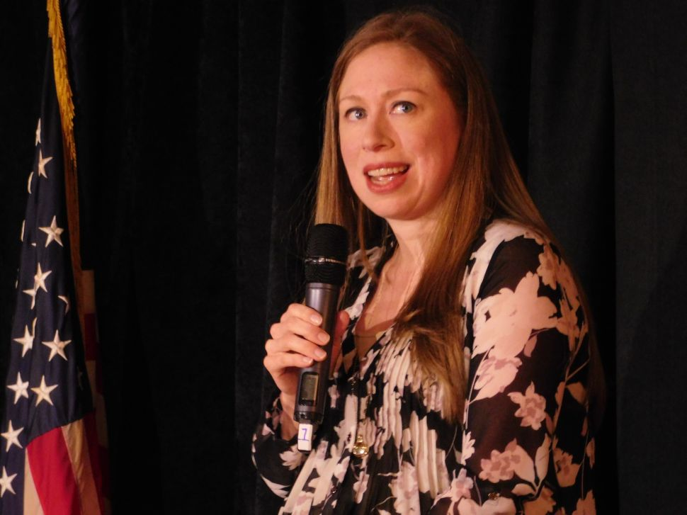 Two Weeks Before Primary, Chelsea Clinton Campaigns for Hillary in NJ