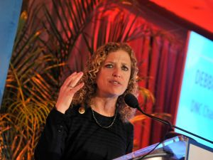 DNC Chair Debbie Wasserman Schultz.