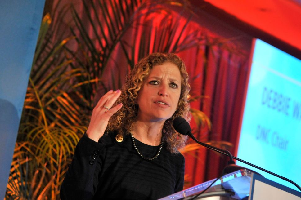 As Long as Debbie Wasserman Schultz Is DNC Chair, the Party Is Bound to Fail