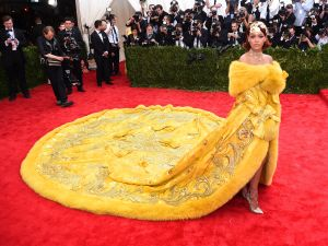 Rihanna at last year's Met Gala