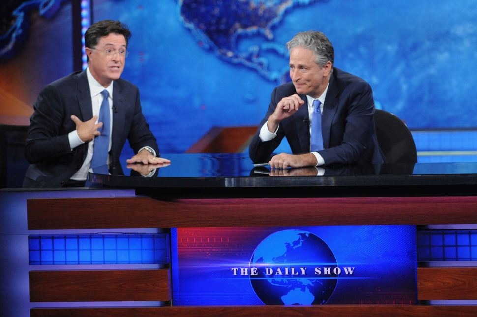 Hillary Clinton Wouldn't Be Winning If Jon Stewart Was Still on Air