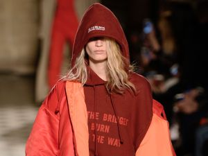 Is this Vetements sweatshirt worthy of being on the Couture schedule?