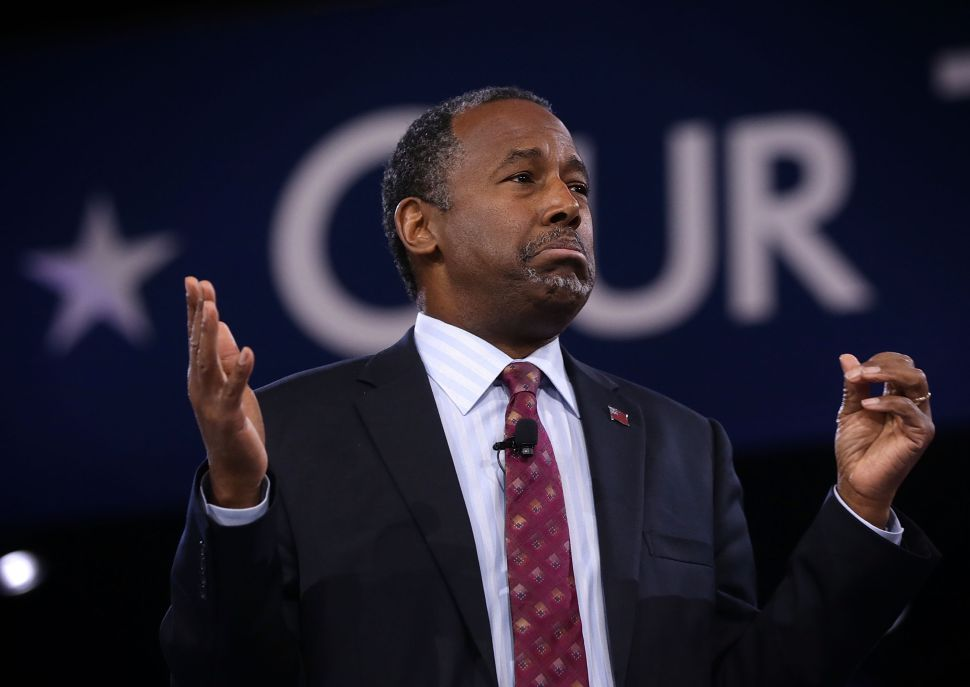 Ben Carson: Say No to Hillary Clinton—and to Lucifer
