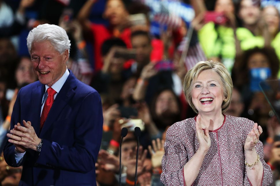 Hillary's Plan to Wheel Bill Clinton Out of Retirement Would Be a Disaster