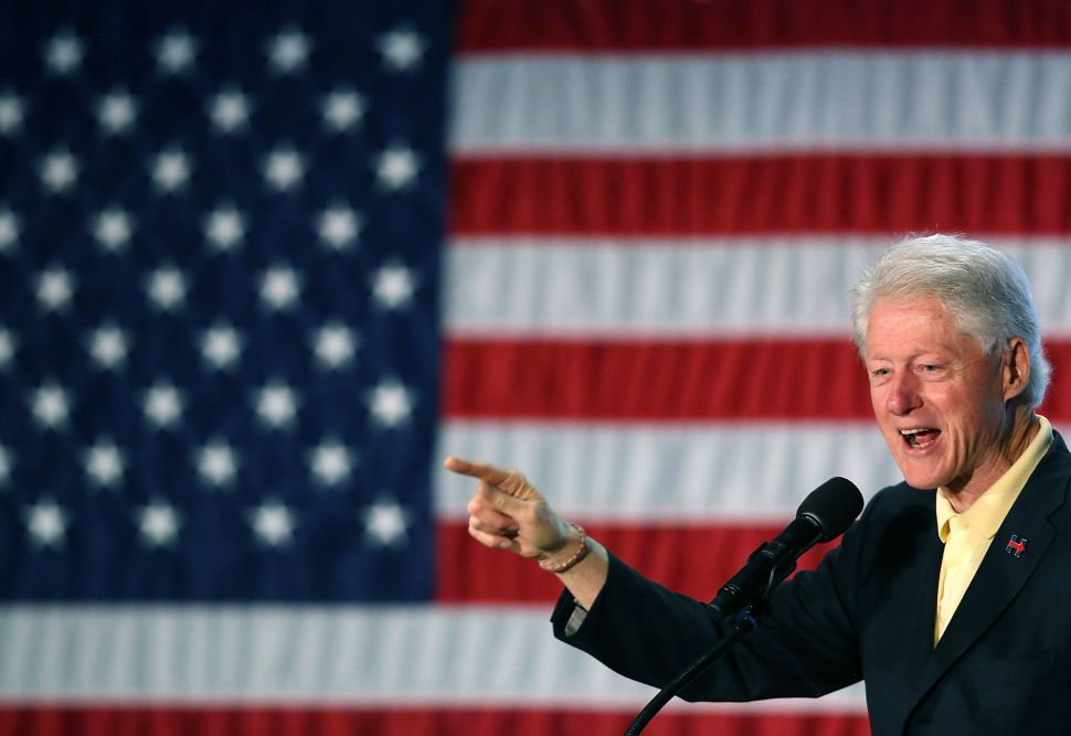 Bill Clinton Is the Babe Ruth of the Presidential Campaign