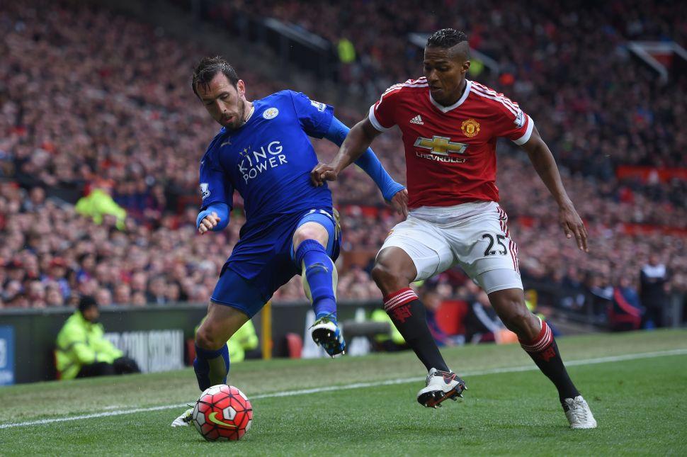 Leicester City Star Christian Fuchs Threatens Observer