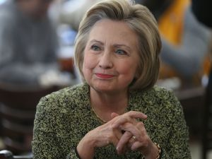 Hillary Clinton is winning the Democratic nomination, in the world of real math, delegates and politics.