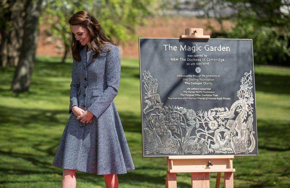 Kate Middleton Opened a Royal Magic Garden