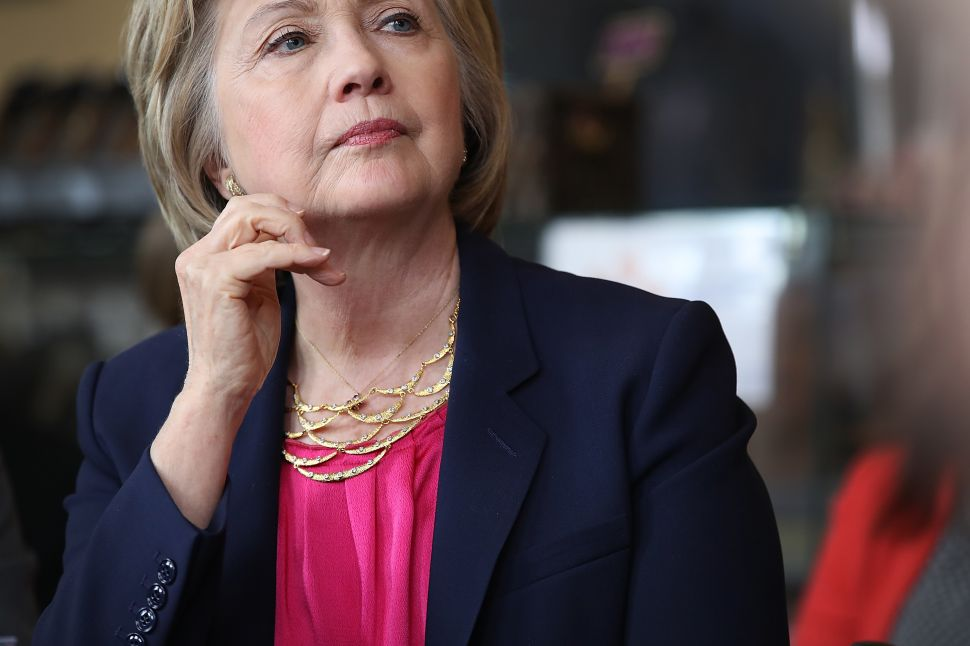 A Challenge to Clinton: Show More Than Your 'Woman Card'