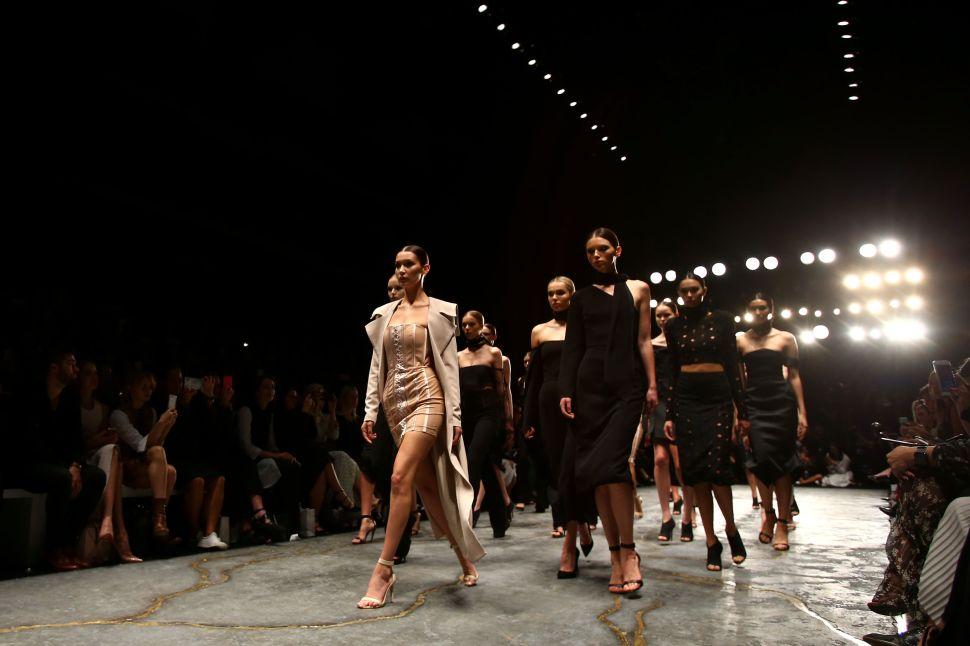 Bella Hadid Is Overshadowing Australian Fashion Week